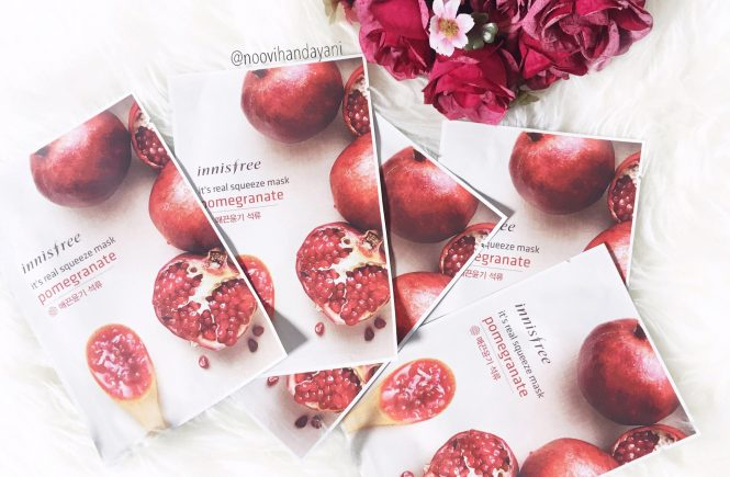 BEAUTY REVIEW: Innisfree Sheet Mask Pomegranate