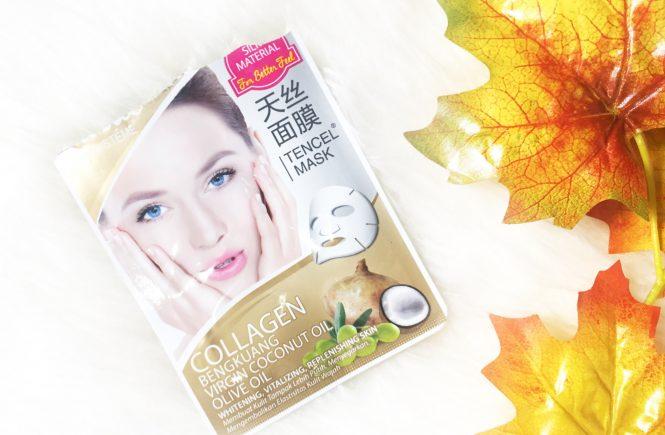 Masker Vivelle Collagen Bengkuang