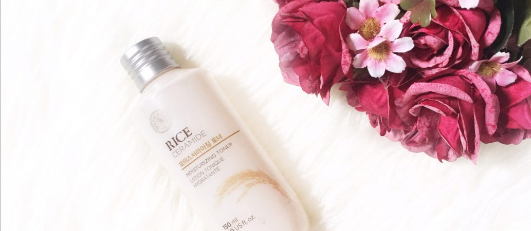 The Face Shop Rice and Ceramide Toner